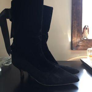 Vintage Manolo Blahnik Boots _ Size 37.5